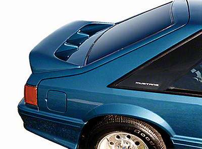 Cervini's Cobra Style Rear Wing - Hatchback - Unpainted (79-93 All)