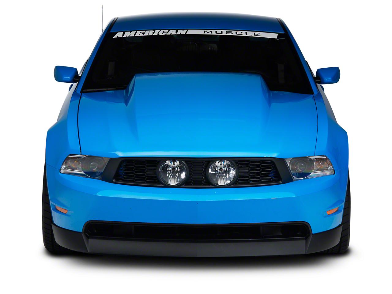 Cervini's 4 in. Cowl Hood - Unpainted (10-12 GT, V6)