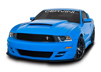 Cervinis Stalker Body Kit - Unpainted (10-12 GT, V6)