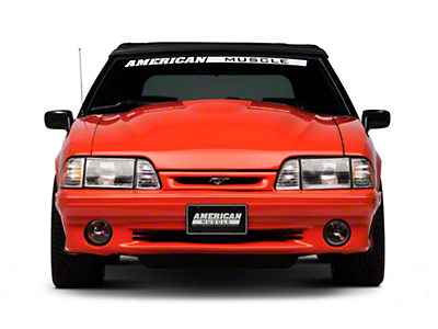 Cervini's 2 in. 2000 Cobra R Style Hood - Unpainted (87-93 All)