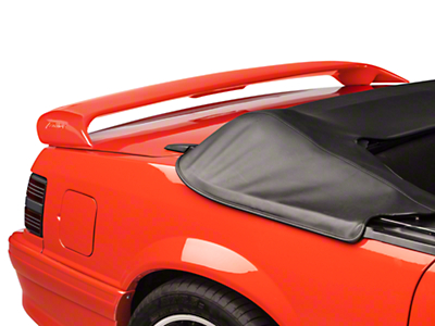 Cervini's Sport Rear Spoiler - Coupe/Convertible - Unpainted (79-93 All)