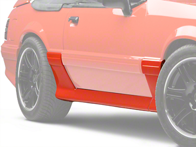 Cervini's 93 Cobra Style Side Skirts (87-93)