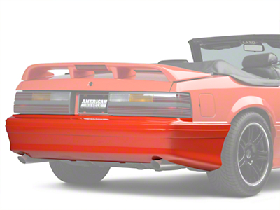 Cervini Cobra Rear Bumper Cover - Unpainted (79-93 All)
