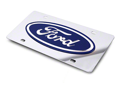 Front License Plate - Ford Oval (79-17 All)