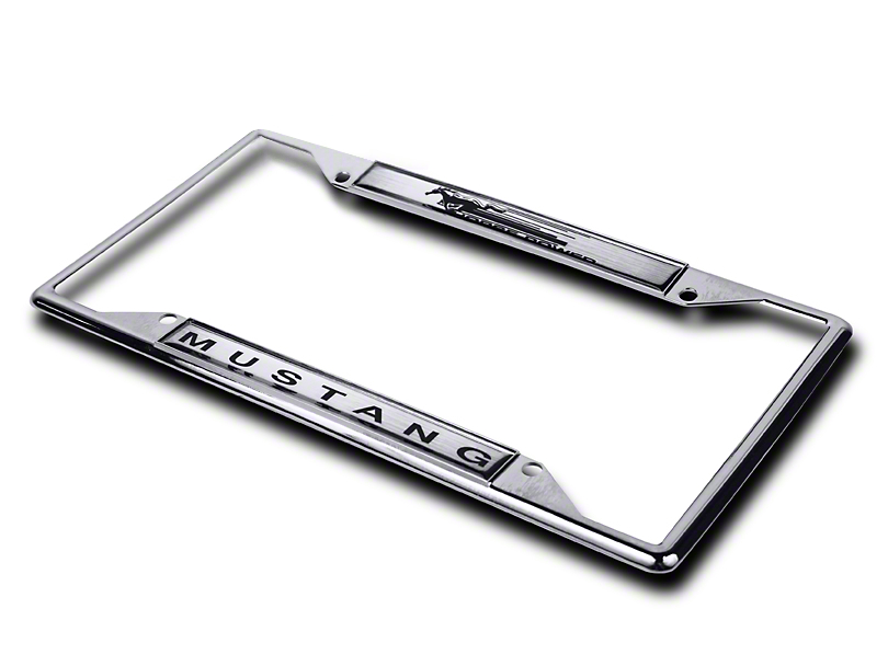 License Plate Frame - Mustang Horsepower (79-17 All)