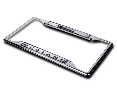 License Plate Frame - Mustang Horsepower (79-15 All)