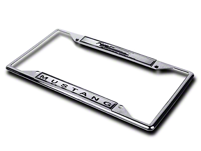 License Plate Frame - Mustang Horsepower (79-14 All)