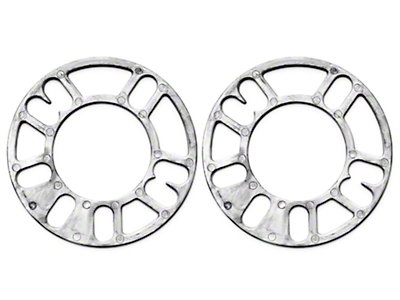 Wheel & Brake Spacers - 1/8in - Pair (79-93 All)