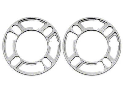 Wheel & Brake Spacers - 3/16in - Pair (79-93 All)