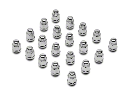 Chrome Acorn Lug Nuts - 3/4 in. (79-14 All)