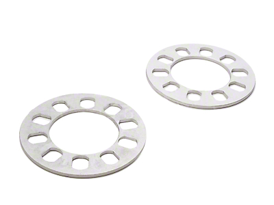 Wheel & Brake Spacers - 3/16in - Pair (94-14 All)