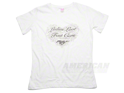Ladies Love Fast Cars T-Shirt - Women