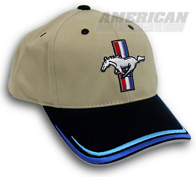 Tri-Bar Pony Hat - Tan