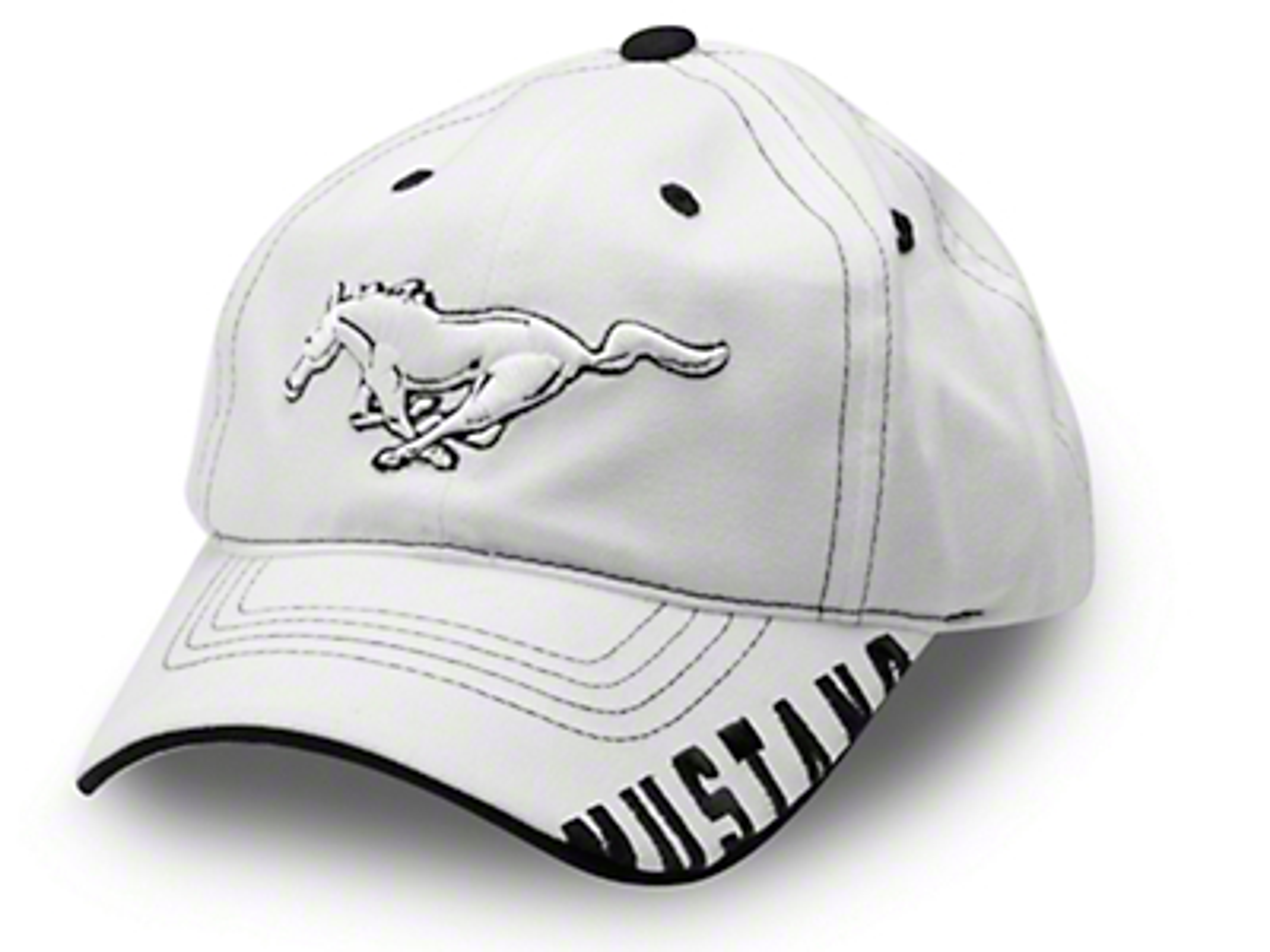 Running Pony Hat - White