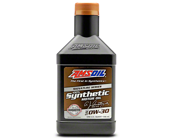 AMSOIL Signature Series 0w30 Synthetic Motor Oil