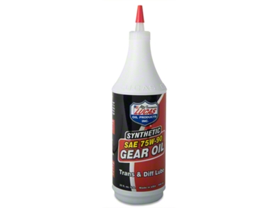Lucas Oil Synthetic 75W90 Gear Oil