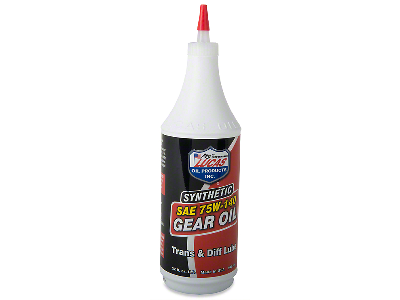 Lucas Oil Synthetic 75W140 Gear Oil
