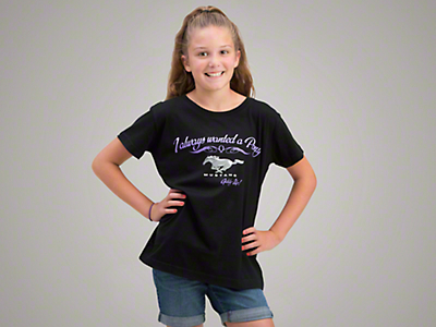I Always Wanted a Pony T-Shirt - Kids