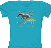 This Pony will kick your SS T-shirt - Women