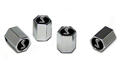 Valve Stem Caps - Cobra Logo