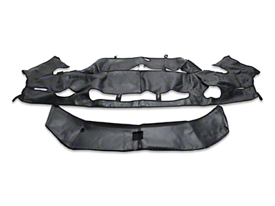 Covercraft Colgan Custom 2-Piece Bra - Carbon Fiber (10-12 GT500)
