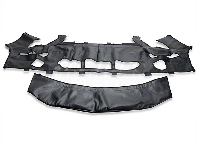 Covercraft Colgan Custom 2-Piece Bra - Carbon Fiber (07-09 GT500)
