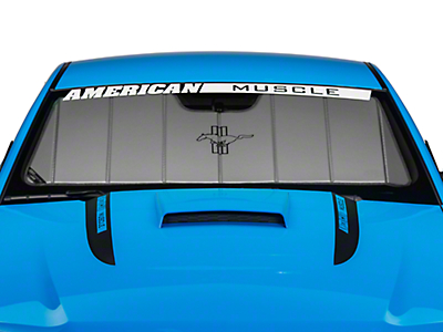 Covercraft UVS100 Heat Shield - Tri-Bar Pony Logo (10-12 All)