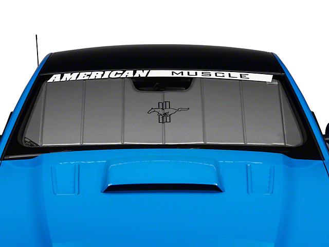 Covercraft UVS100 Heat Shield - Tri-Bar Pony Logo (13-14 All)