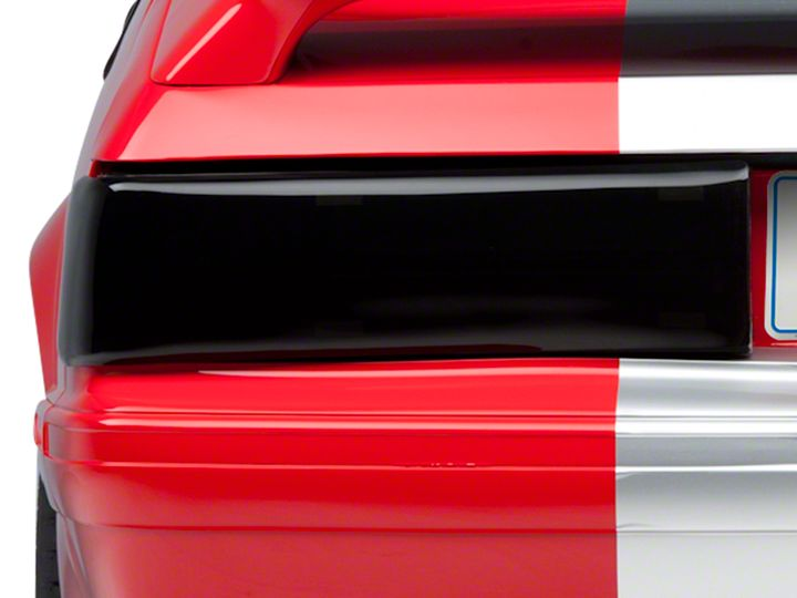 Mustang Smoked Taillight Covers 87 93 Gt Lx Installation Instructions Americanmuscle