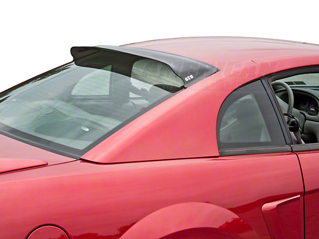 Mustang smoked solar wing 94 04 free shipping for 2000 mustang rear window louvers