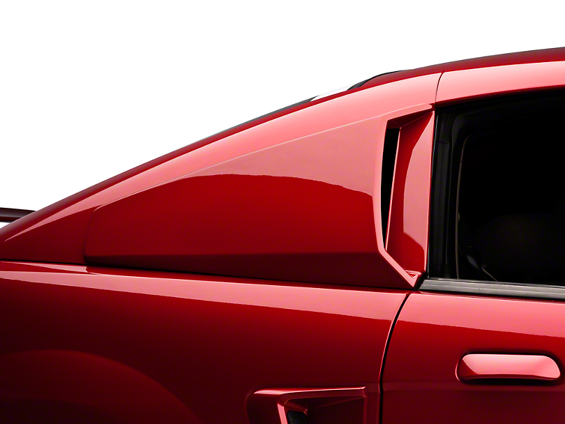 Xenon Mustang Quarter Window Scoops Unpainted 12710 99