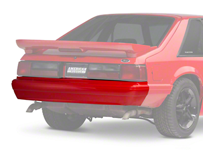 Rear Bumper Cover - Unpainted (87-93 LX)