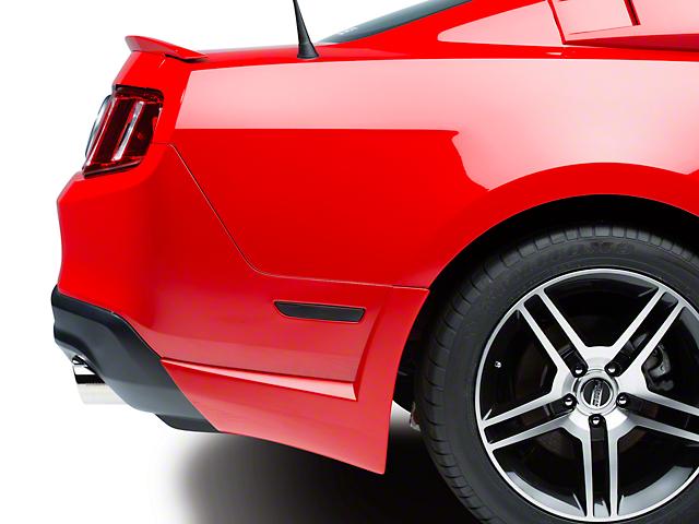 Xenon Rear Bumper Spats - Unpainted (10-14 V6)