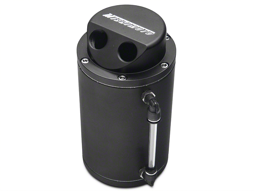 Mishimoto Oil Catch Can - Black (79-14 All)