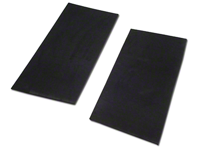 Rear Seat Delete Kit - Convertible - Black (94-98 All)