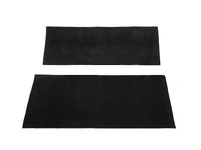 Rear Seat Delete Kit - Coupe - Charcoal (99-04 All)