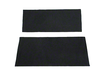 Rear Seat Delete Kit - Convertible - Charcoal (99-04 All)