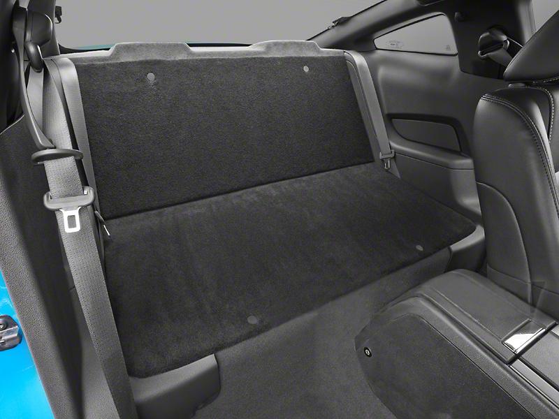 Rear Seat Delete Kit - Coupe - Black (05-14 All)