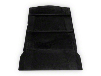 Rear Seat Delete Kit - Hatchback - Black (79-93 All)