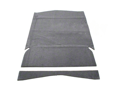 Rear Seat Delete Kit - Hatchback - Gray (79-93 All)