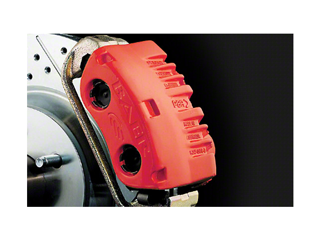 Duplicolor Brake Caliper Paint Kit - Red (79-17 All)
