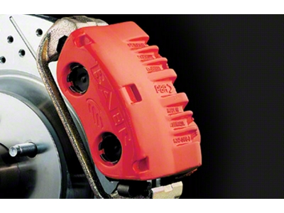 Duplicolor Brake Caliper Paint Kit - Red (79-15 All)