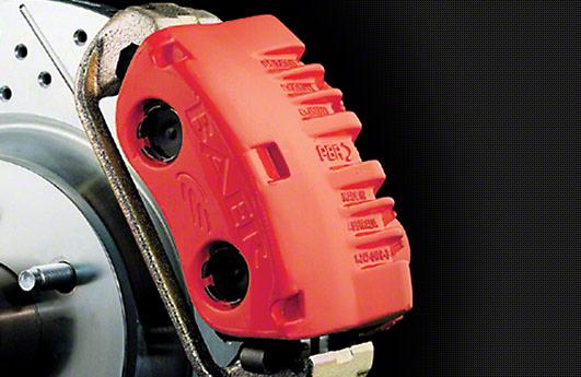 Duplicolor Brake Caliper Paint Kit - Red (79-16 All)