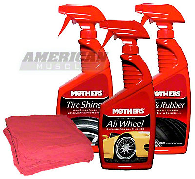 Mothers Wheel and Tire Cleaning Kit