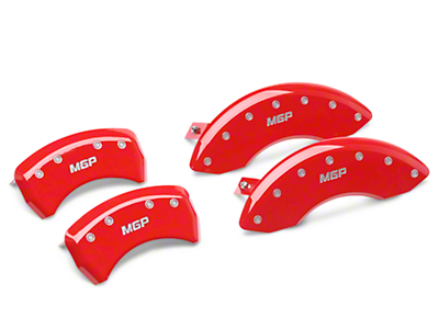 MGP Red Caliper Covers - Front & Rear (05-10 GT, V6)