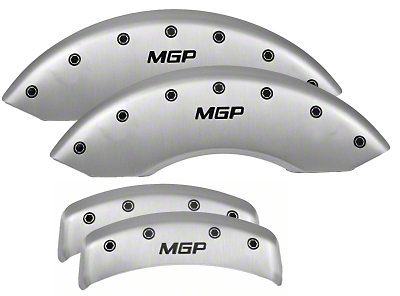 MGP Mustang Caliper Covers (Set of 4) - Satin (94-04)