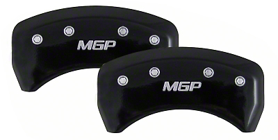 MGP Mustang Caliper Covers (Rear Pair) - Black (05-10)