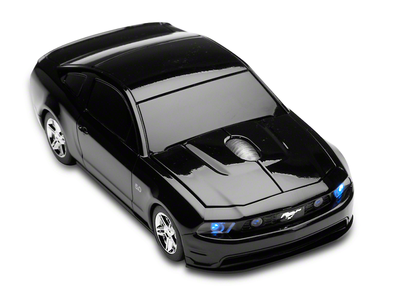 2011 Mustang GT Wireless Computer Mouse (Black)