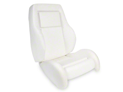 Replacement Seat Foam - High Back w/ Knee Bolster (84-86 SVO)