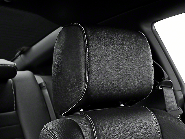 TMI Tilting Headrest Black Vinyl - Pair (10-14 All)